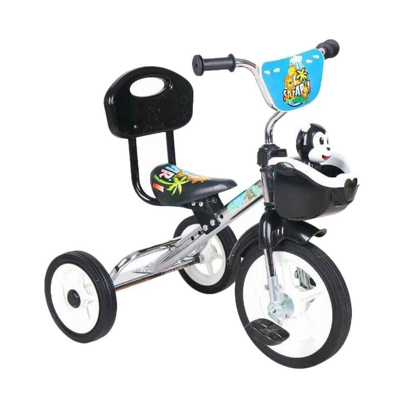 PMB Sandaran Sepeda Anak Roda Tiga Chrome