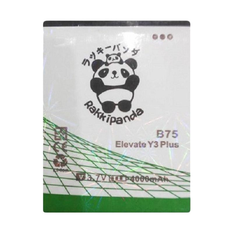 RAKKIPANDA Double Power IC Baterai for Evercoss Elevate Y3 Plus (B75)
