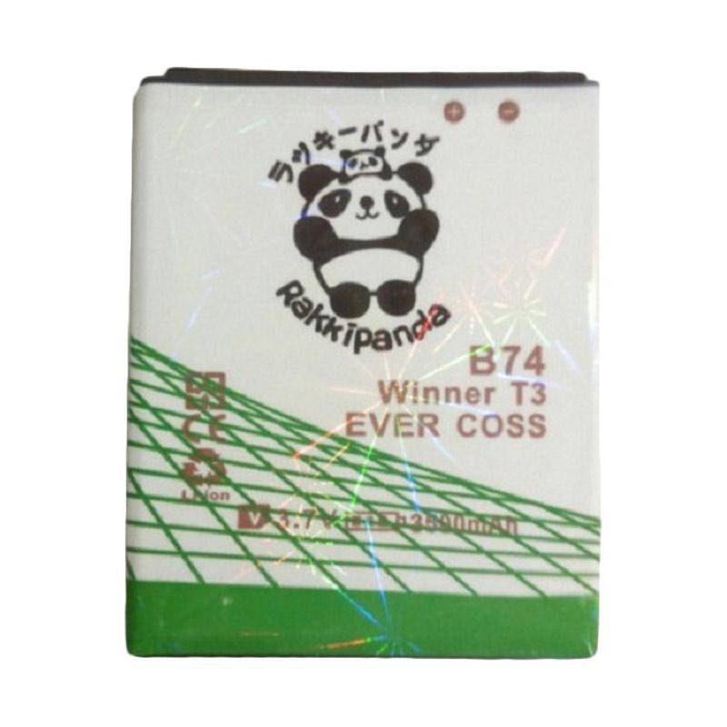 RAKKIPANDA Double Power IC Battery for Evercoss Winner T3 B74