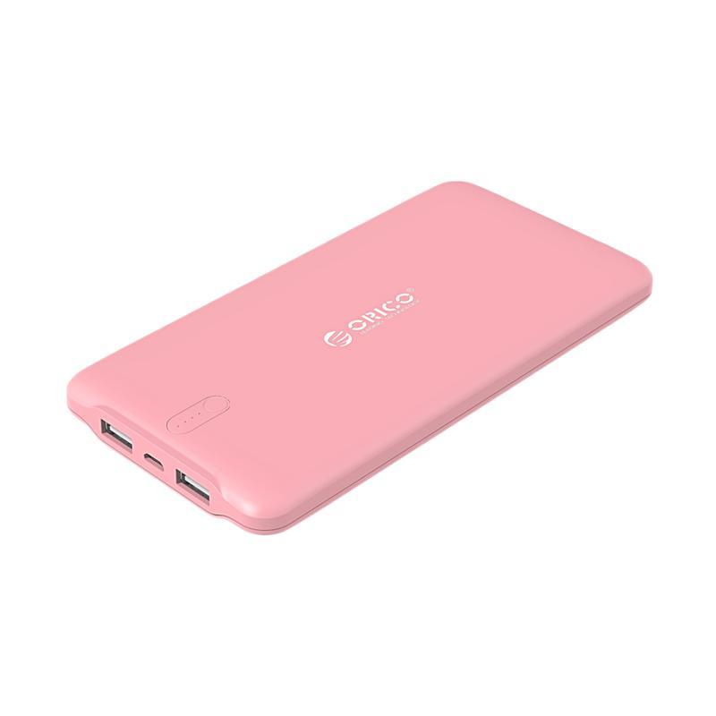 ORICO LD100 Scharge Polymer Powerbank - Pink [10000 mAh]