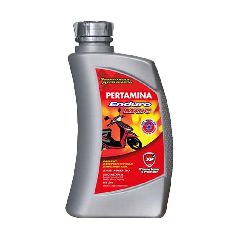 Oli Motor Pertamina Enduro Matic 10W-30 0.8 Liter [Gratis Pengiriman]