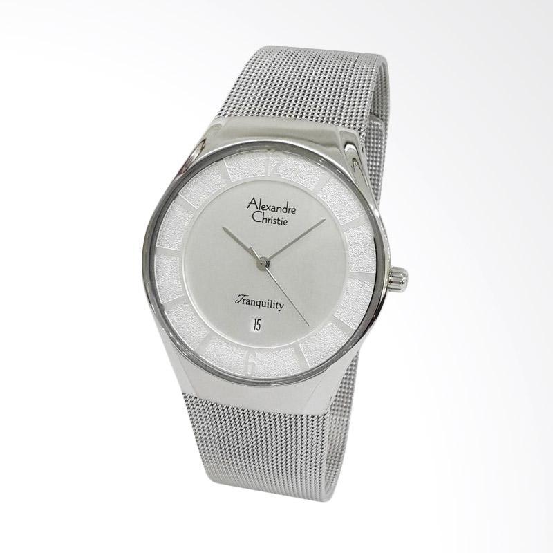 Alexandre Christie Jam Tangan Pria - Silver [8331]