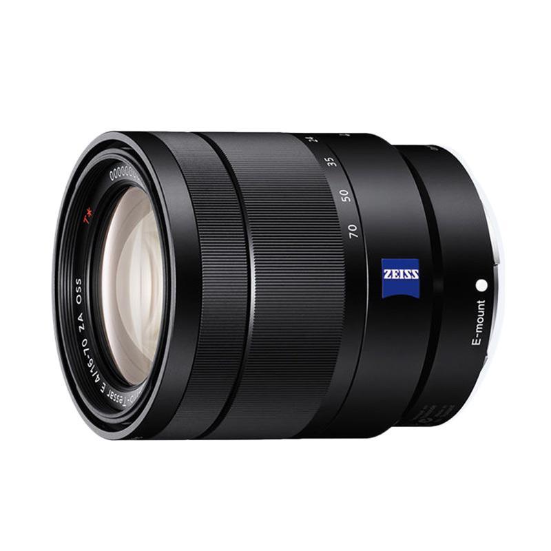 Sony Vario Tessar T E 16-70mm F4 ZA OSS Lensa Kamera - Hitam