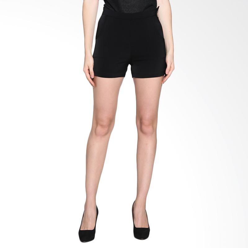 harga Onnea Hot Pants Wanita - Black Blibli.com