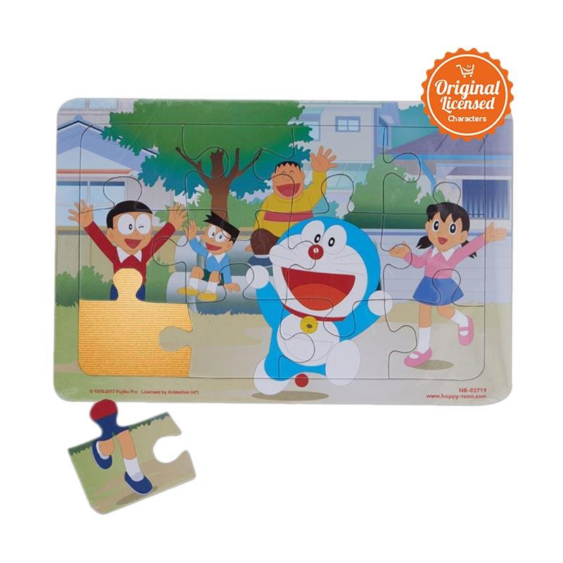 Doraemon 04 Mainan Puzzle Anak