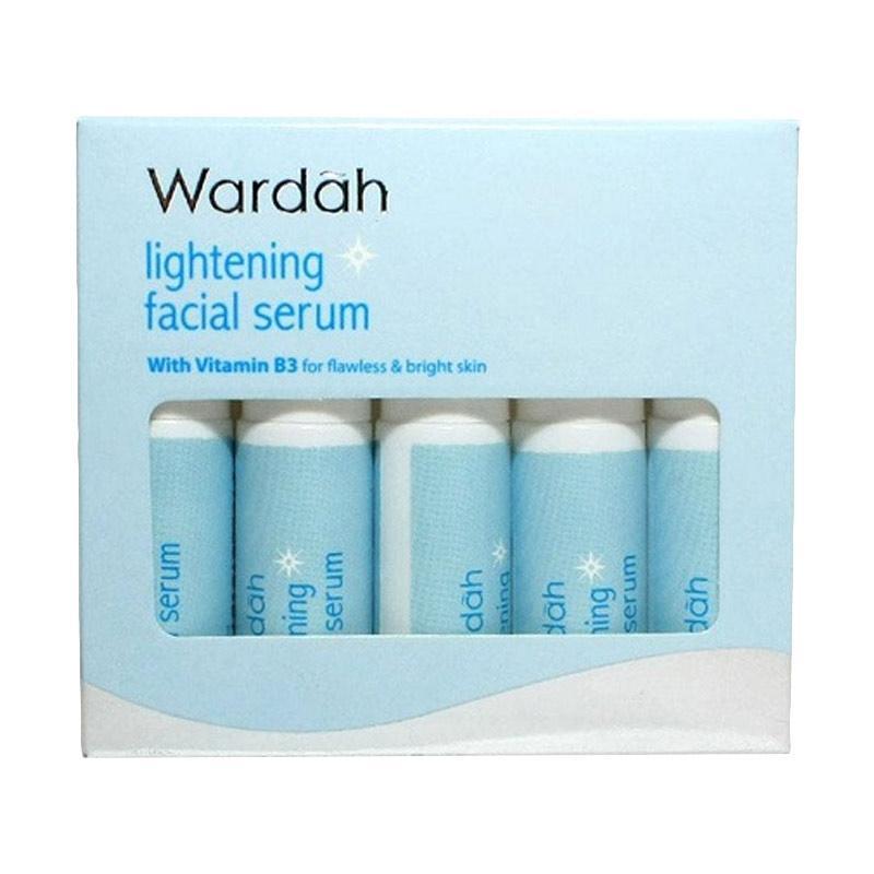 Jual Wardah Lightening Facial Serum 5 Botol 5 Ml Online April 2021 Blibli