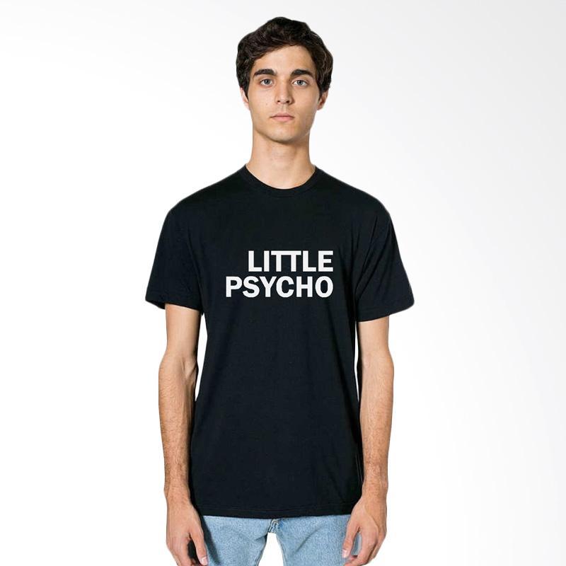 FRAW T-shirt Kaos Pria - Black 11-17