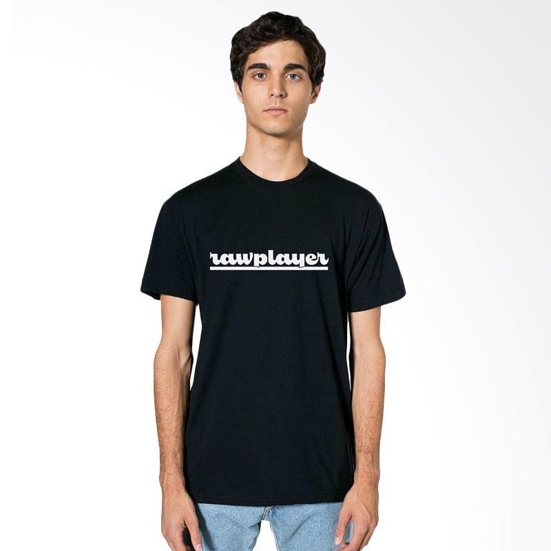FRAW T-shirt Kaos Pria - Black 19-17