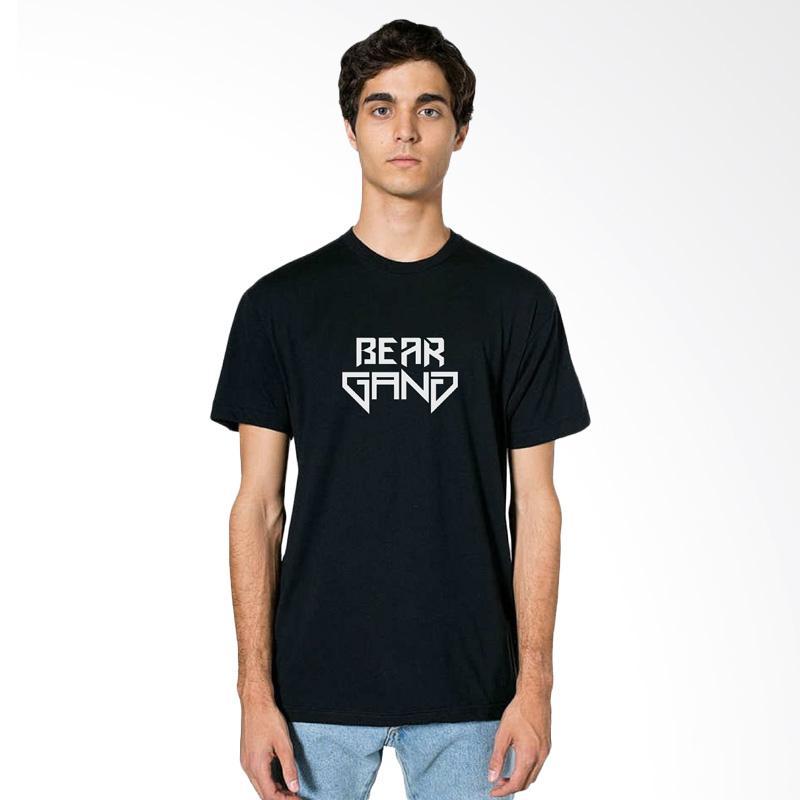 FRAW T-shirt Kaos Pria - Black 20-17