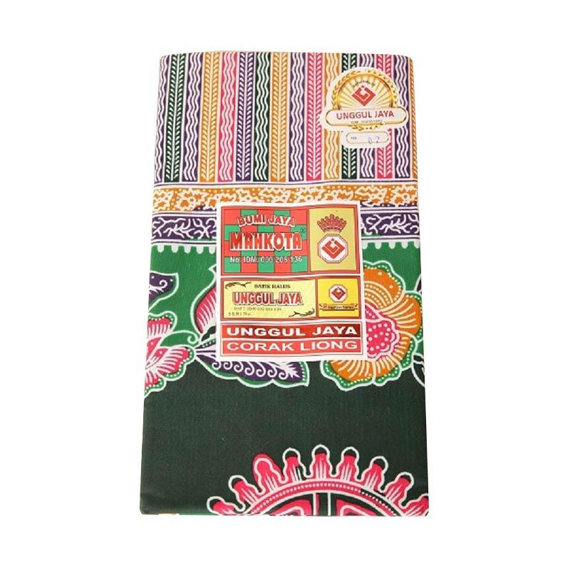 Chloebaby Shop Selendang Jarik Batik Asli Pekalongan Kain Gendongan Bayi - Hijau Tua