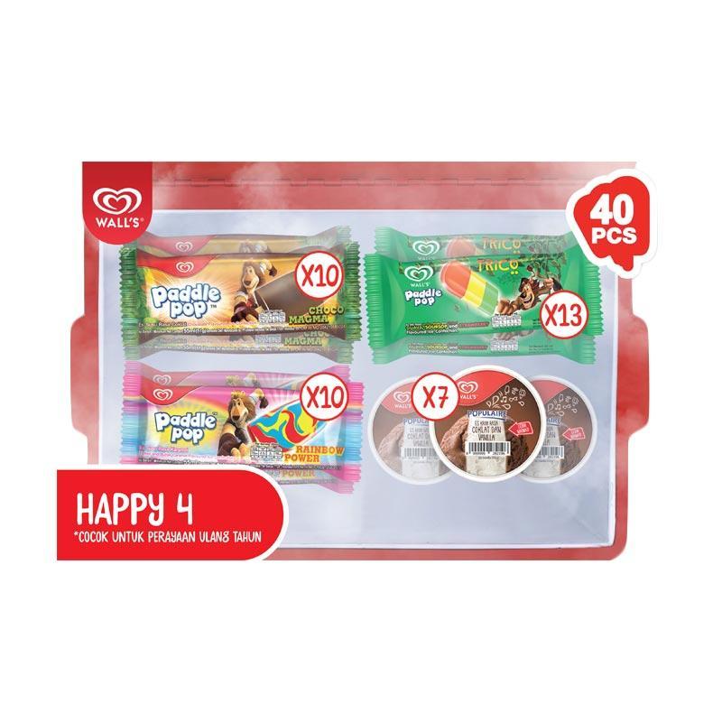 WALL'S Paket HAPPY 4 [Bandung]
