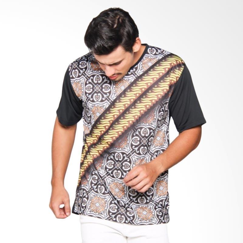 EpicMomo Pattern7 T-Shirt - Black AD.00149