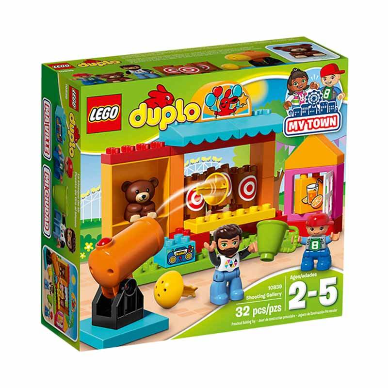 LEGO 10839 Duplo Shooting Gallery Mainan Blok