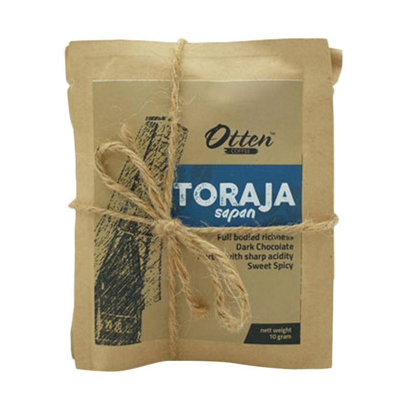Jual Otten Coffee Drip Arabica Toraja Sapan Kopi Bubuk [10 g] Online - Harga & Kualitas Terjamin   Blibli.com