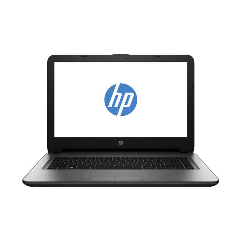 harga HP 14-BS011TX Notebook - Silver [i5-7200U/520/2GB/WIN 10] Blibli.com