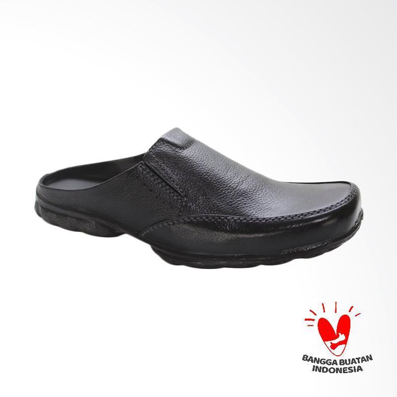 GRUTTY Sandal Bustong Pria - Hitam GR 81-092