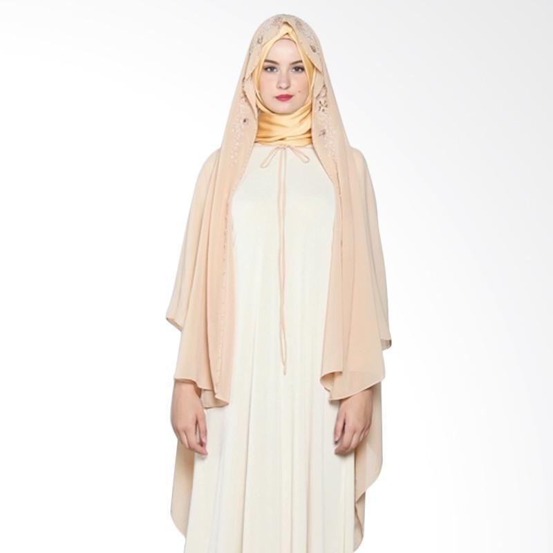Yanna Azwar Annisa Outer Atasan Wanita - Cream Nude