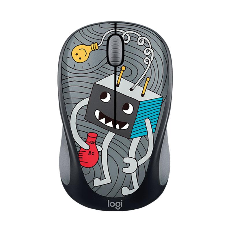Logitech M238 Doodle Collection Wireless Mouse [Lightbulb]