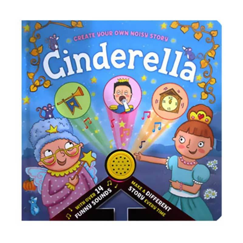 harga HelloPandaBooks Create Your Own Noisy Story Cinderella Board Book with Over 14 Funny Sounds Buku Anak Blibli.com