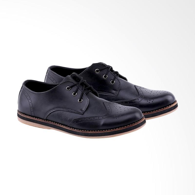 Garucci Formal Shoes Pria - Black GSU 2055