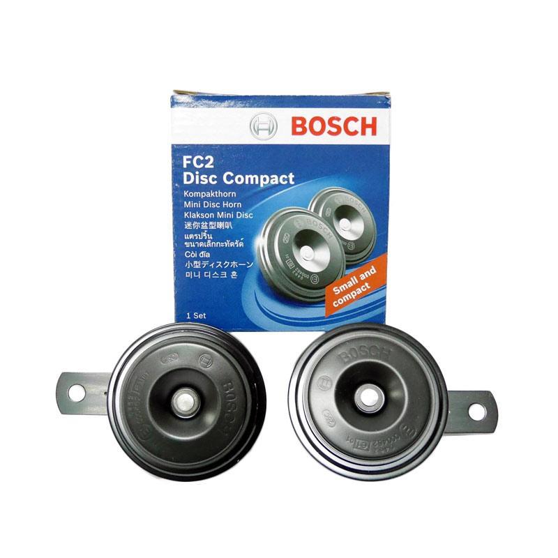 Bosch FC2 Disc Compact Set Klakson Mobil - Black