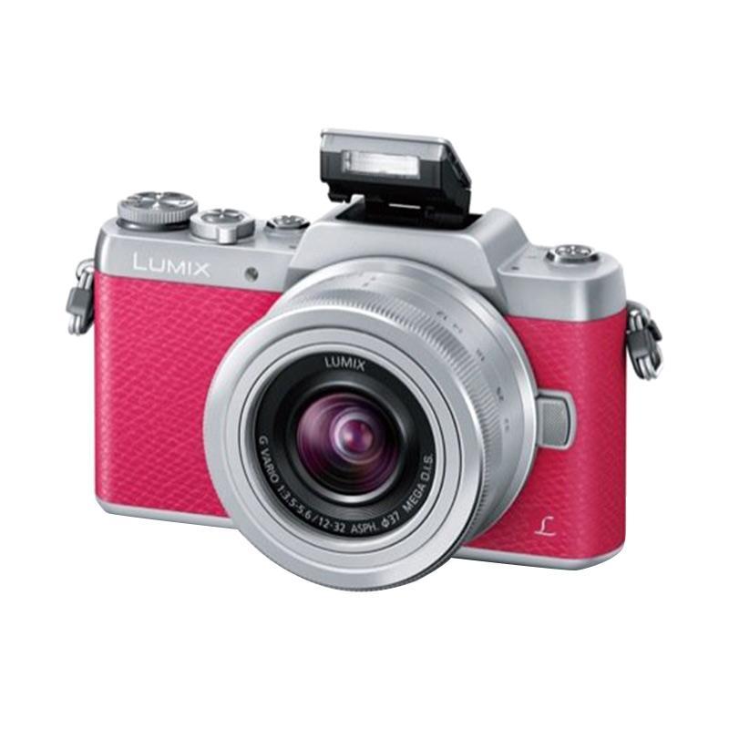 Panasonic Lumix DMC GF8 Kit 12-32mm Kamera Mirrorless - Pink