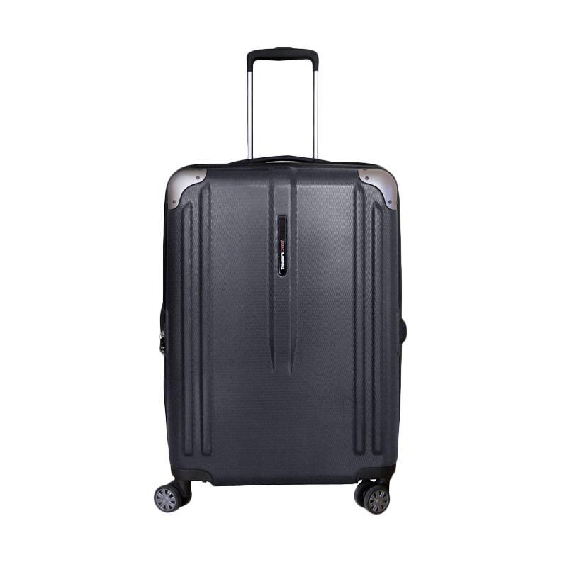 Traveler's Choice New London Hardcase Medium Koper Hardcase Grey [25 Inch]