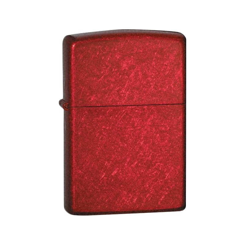 Zippo Candy Apple Pocket Lighter - Red