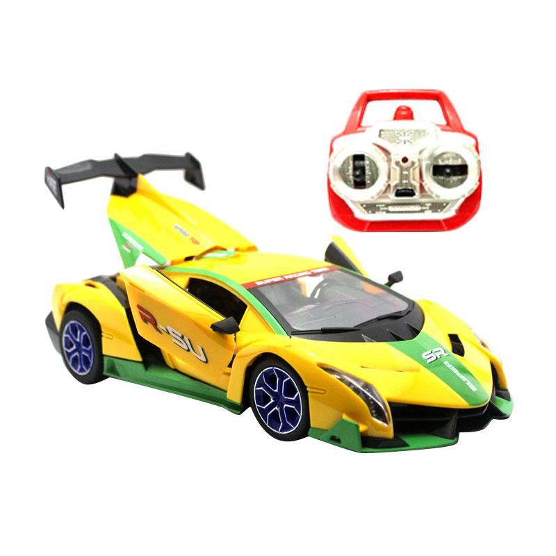 Yoyo Lamborghini Rally Car Mainan Remote Control