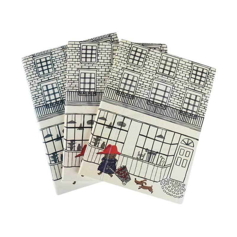 Karisma Set Buku Tulis Mother & Dog [A5 Jepang/ 80 g/ 3 pcs] - 745538