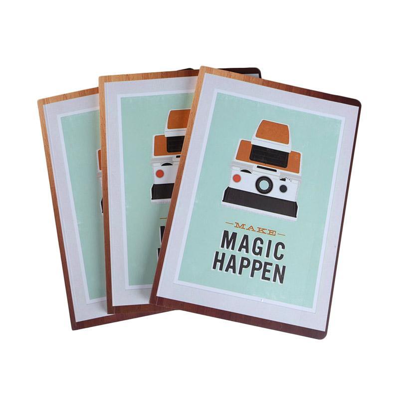 Karisma Exclusive Set Buku Tulis Make Magic Happen Exclusive Set Buku Tulis [A5/ 80 g/ 3 pcs] - 744786