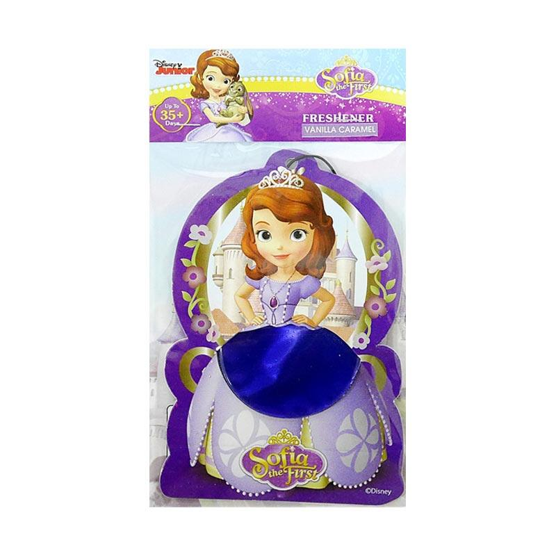Disney SF02 Sofia The First Hanging Air Freshener Parfum Mobil dan Ruangan - Vanilla Caramel
