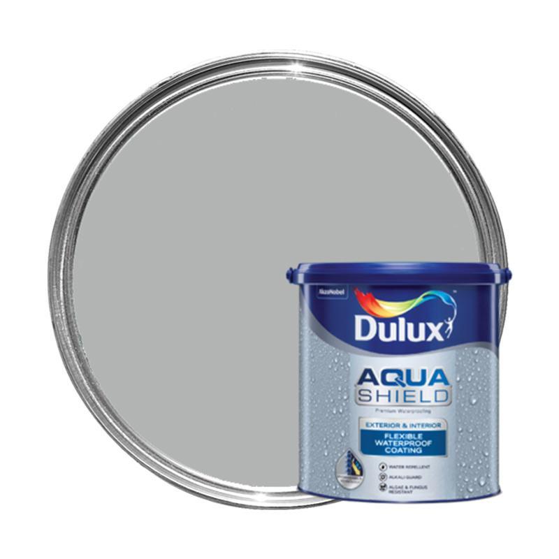 Dulux 40504 Aquashield Cat Pelapis Anti Bocor - Light Grey [1 kg]