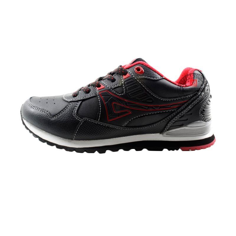 harga Ardiles Vinales Sepatu Casual Sekolah Anak - Merah Blibli.com