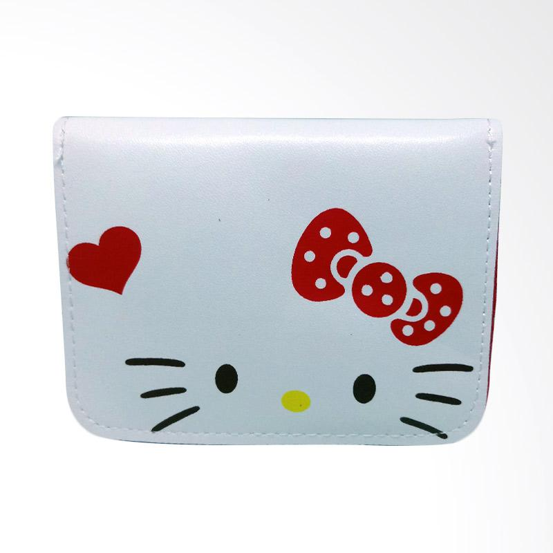 Hello Kitty Face Love HK Dompet Wanita - Red White