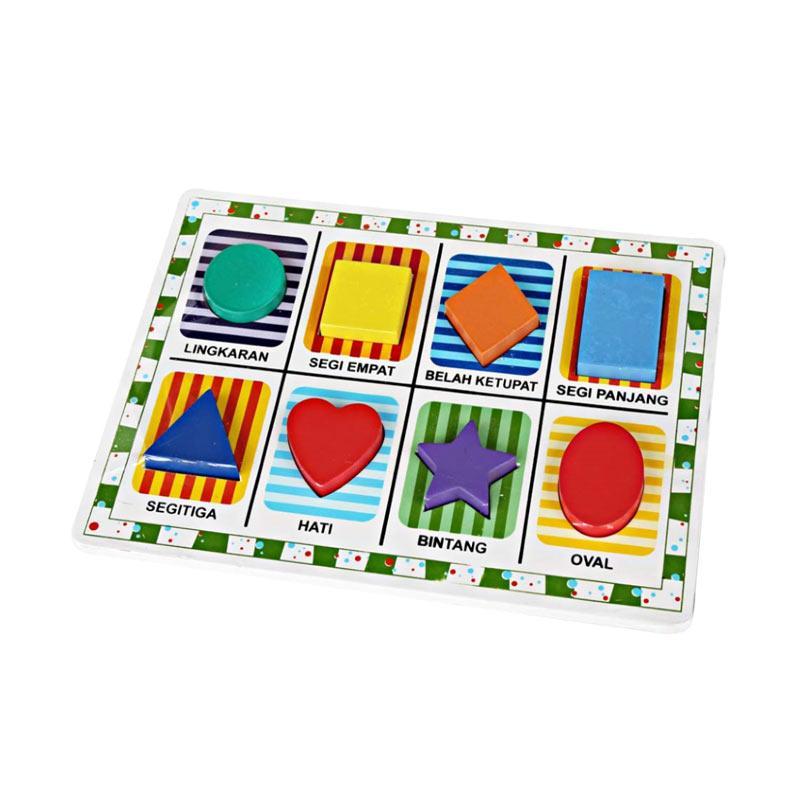 Istana Bintang Chunky Puzzle [8 Bentuk]