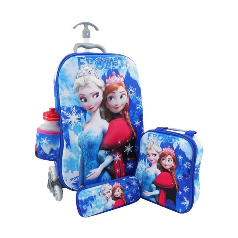 DJ Fashion 0402 3D 4in1 Set Tas Sekolah Anak