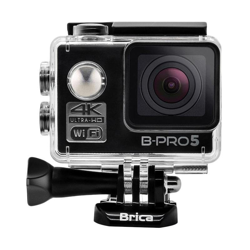 Brica B-PRO 5 Alpha Edition Mark II AE2 Action Camera with Attanta 08-A Monopod - Hitam