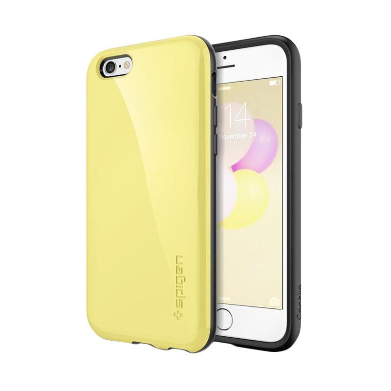 Spigen Capella Casing for iPhone 6 Plus 5.5 Inch - Lemon Yellow