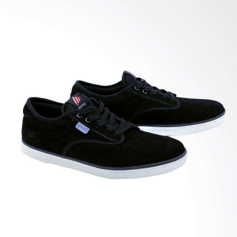 Garsel Sneakers Shoes Pria - Hitam GDG 1020