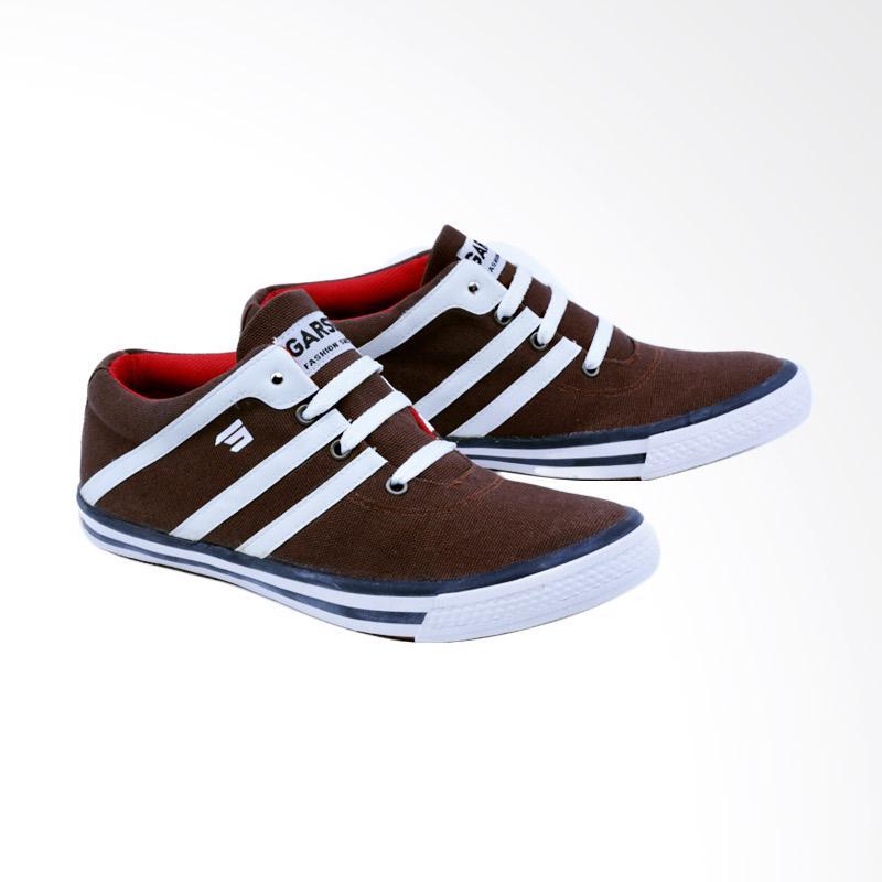 Garsel Sneakers Shoes Pria - Coklat GJE 1022