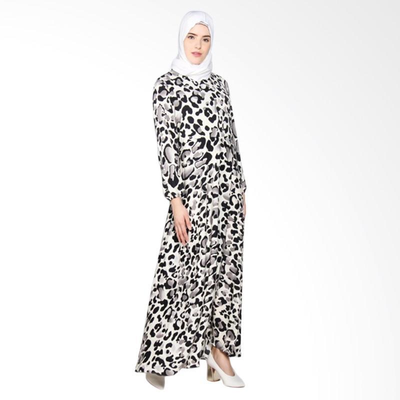 Rauza Rauza Bubble Dress Muslim - Putih