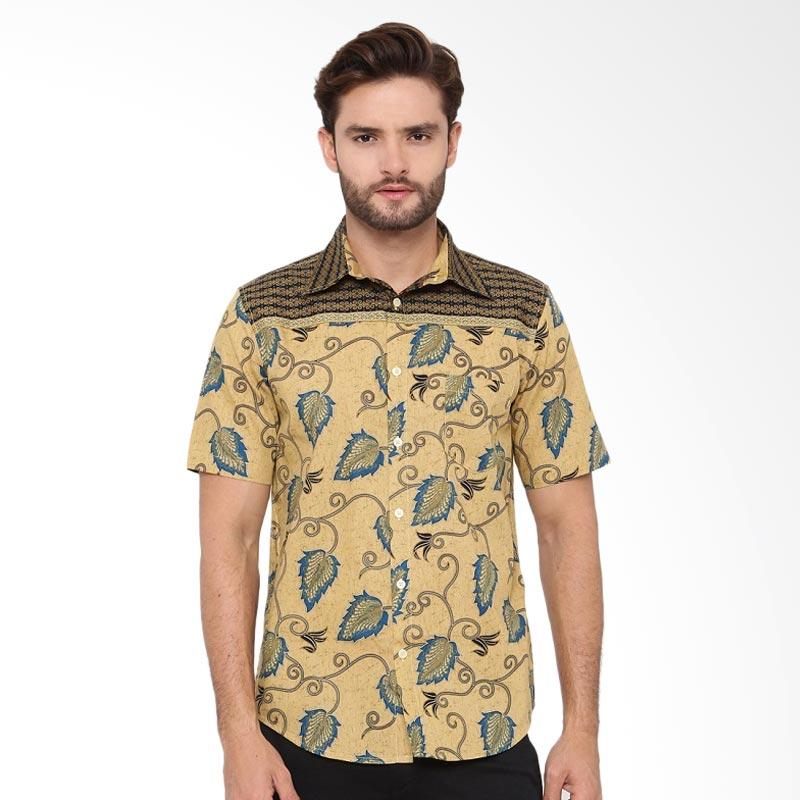 A&D Fashion Mens Batik Pria - Brown Ms 899