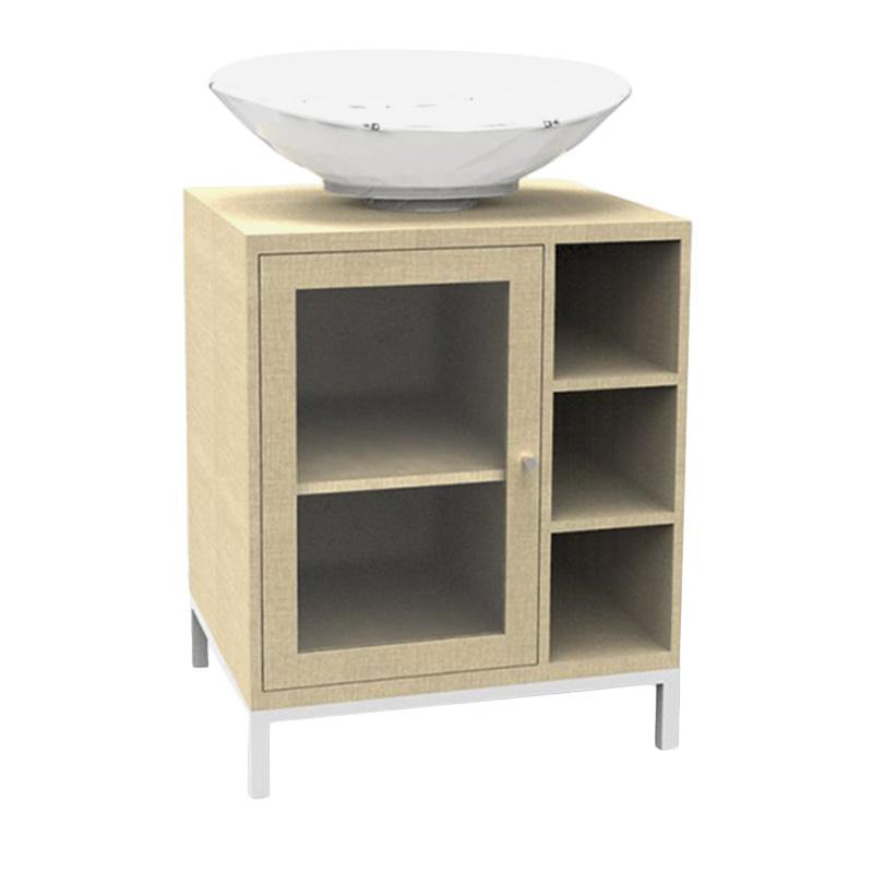 Prissilia Melbourne Wash Stand Cabinet