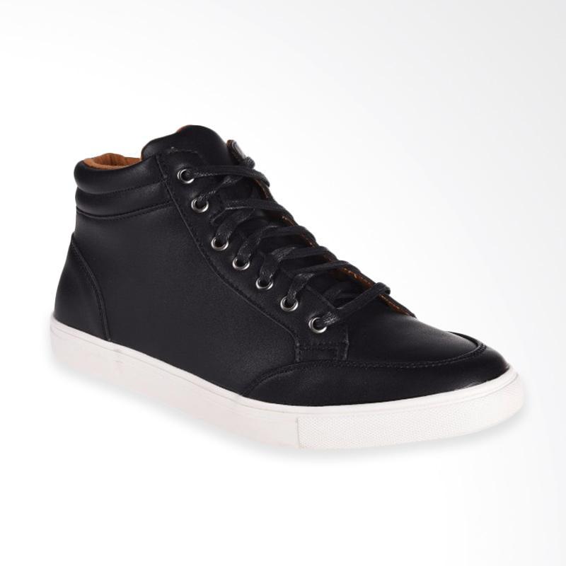 harga Papercut Men Chelsea Casual Shoes Sepatu Pria - Black [2016-23] Blibli.com