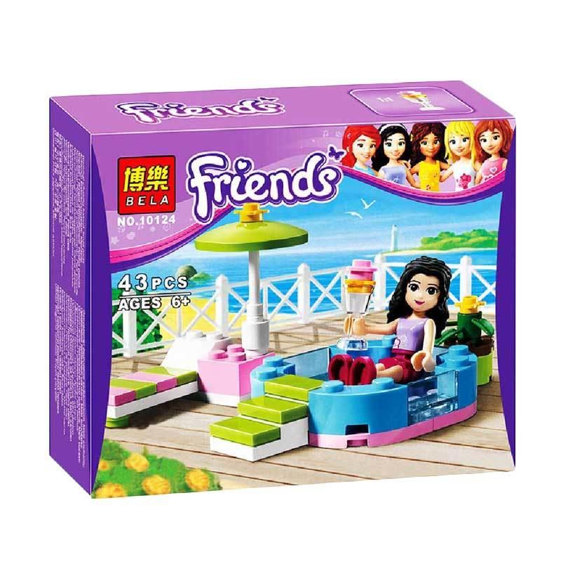 Bela Bricks 10124 Girls Mainan Blok & Puzzle