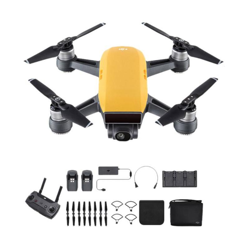 DJI Spark Fly More Combo Drone - Sunrise Yellow