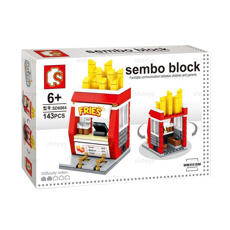 Sembo SD6064 Fries Mini Blocks