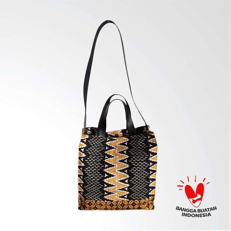 Dinary Batik Zigzag Sling Bag Tas Wanita