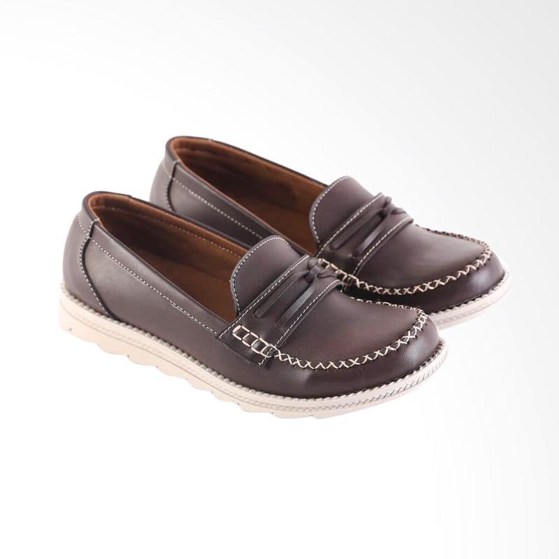 harga Garsel Fashionable Casual Shoes Woman Synthetic L528 Sepatu Wanita - Brown Blibli.com